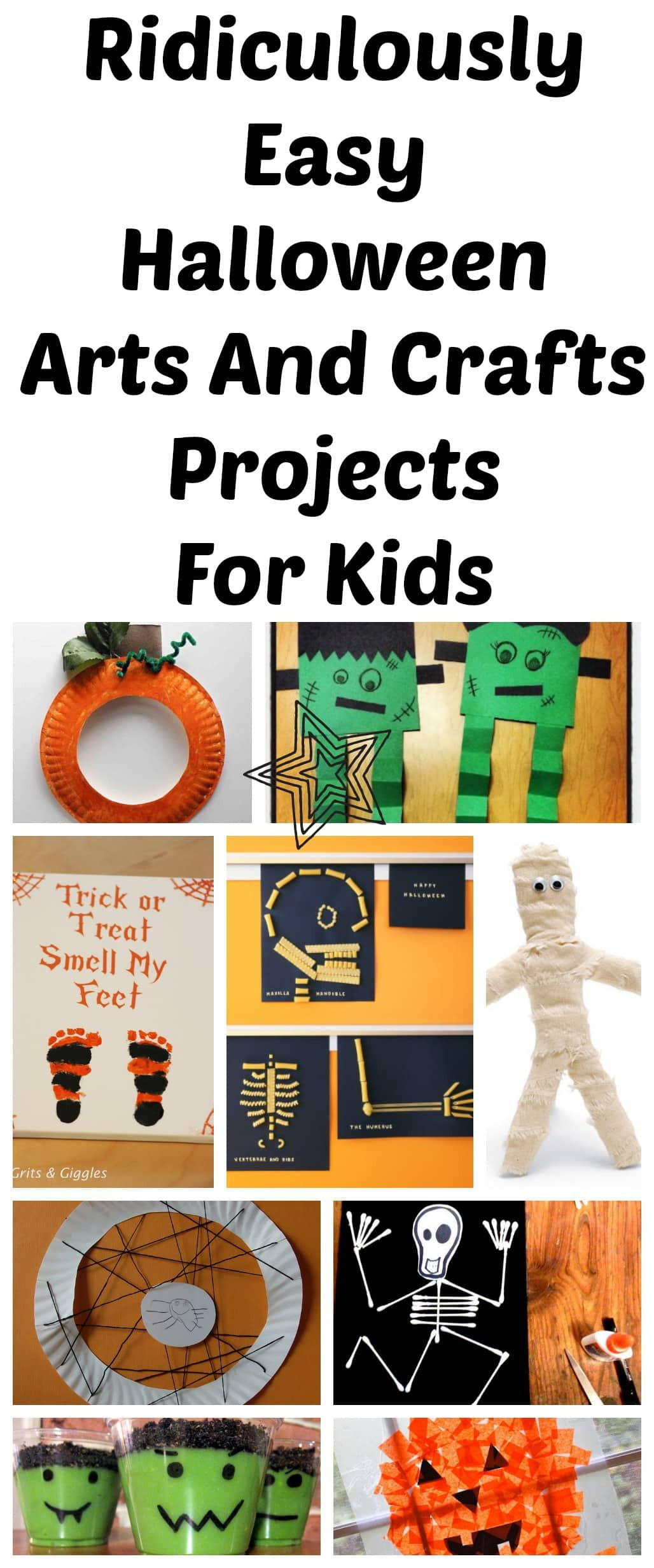 Halloween Craft Ideas Kids  10 Ridiculously Easy Halloween Arts And Crafts Projects To