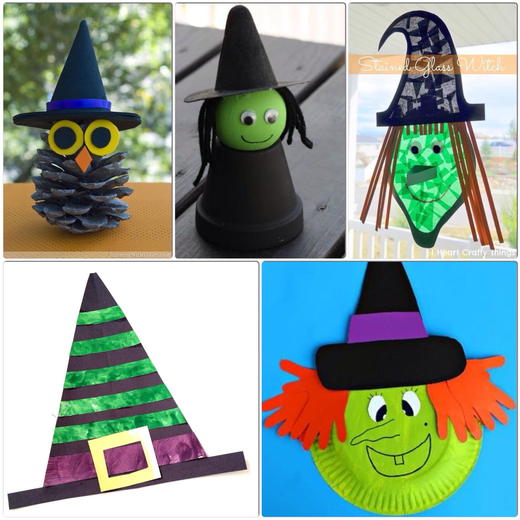 Halloween Craft Ideas Kids  Witch Crafts for Kids – More Halloween Fun