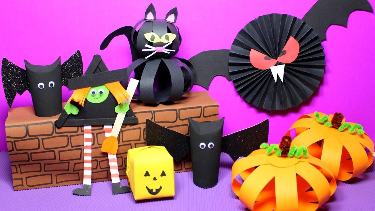 Halloween Craft Ideas Kids  Easy Halloween Crafts for Kids