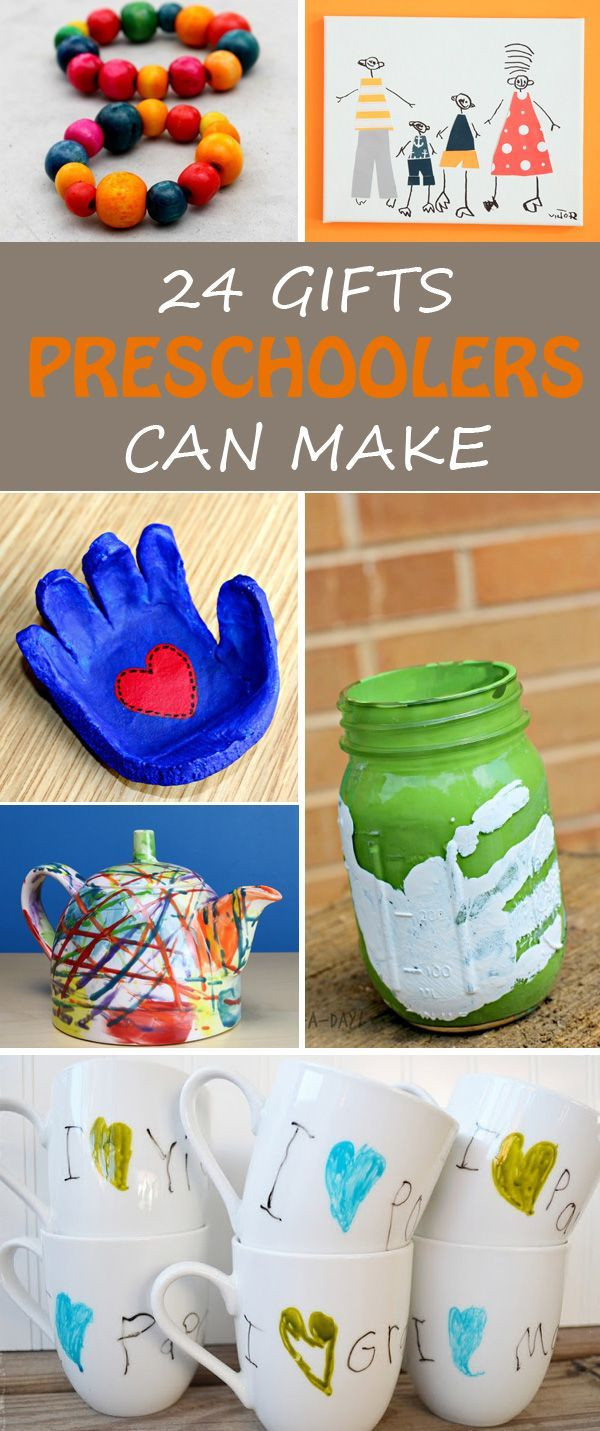 Handmade Gifts From Toddlers  24 Gifts Kids Can Make