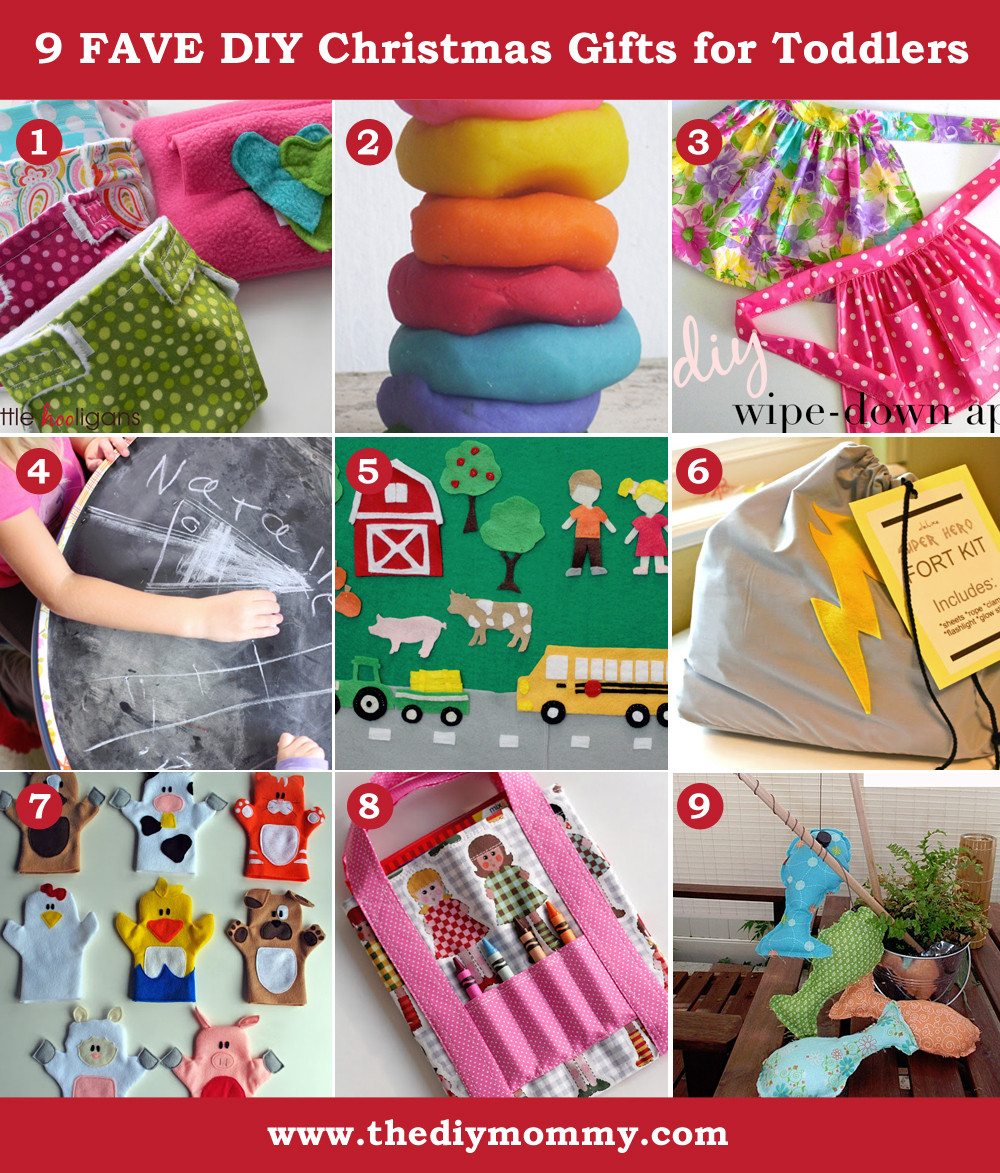 Handmade Gifts From Toddlers  A Handmade Christmas DIY Toddler Gifts