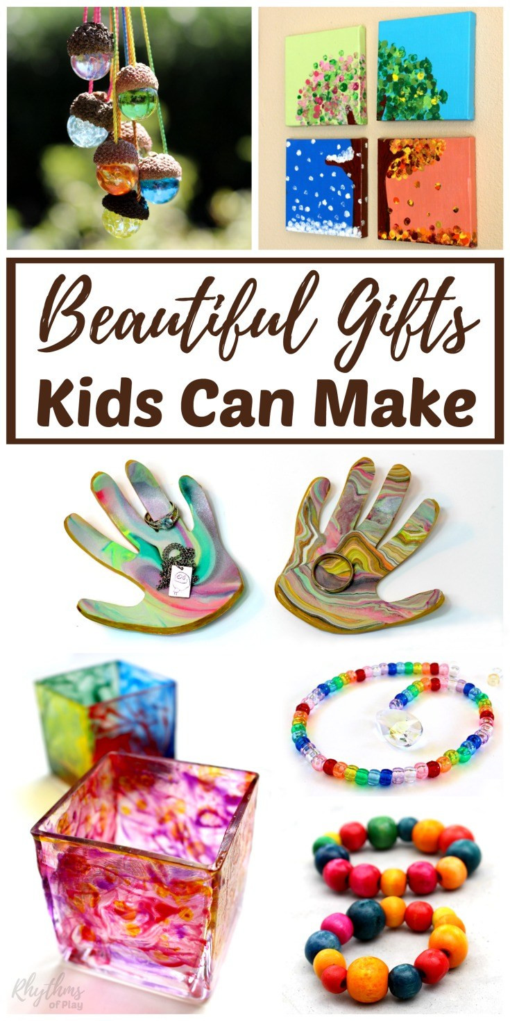 Handmade Gifts From Toddlers  Beautiful DIY Gifts Your Kids Can Make