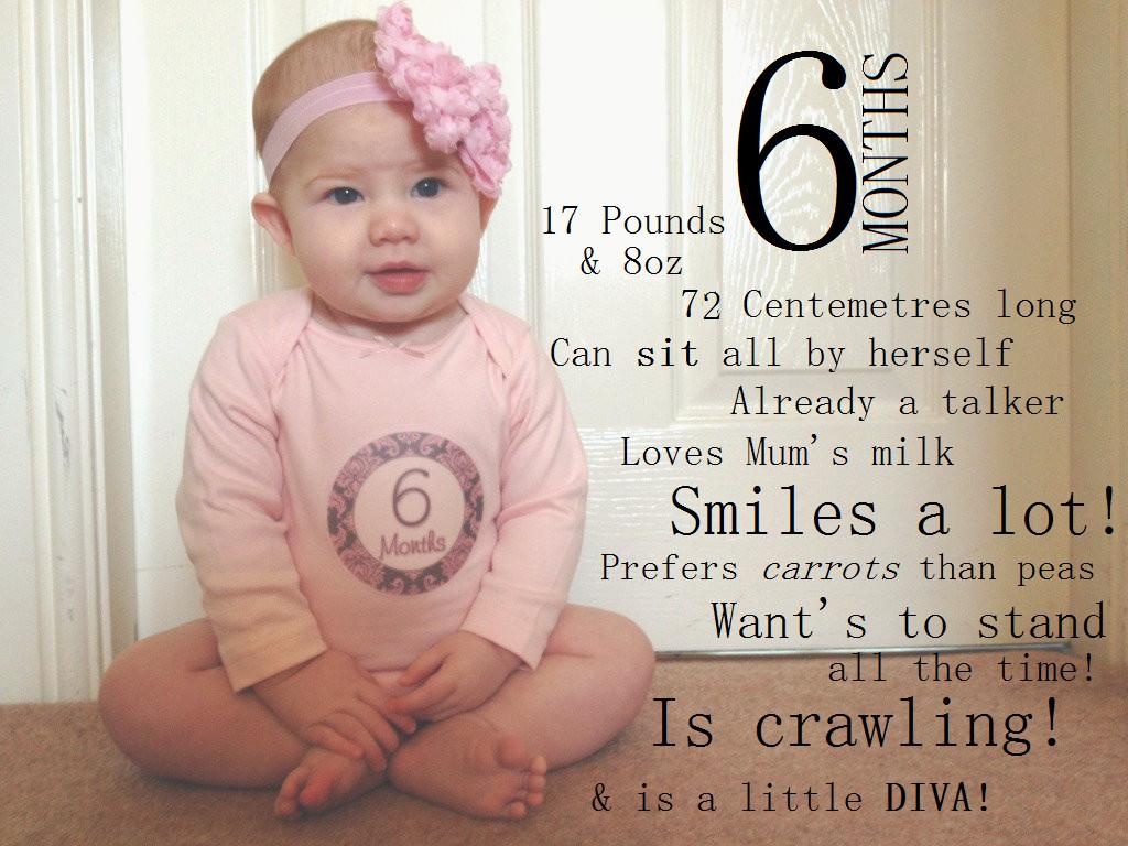 Happy 6 Months Baby Quotes  Happy 6 Months Baby Quotes QuotesGram