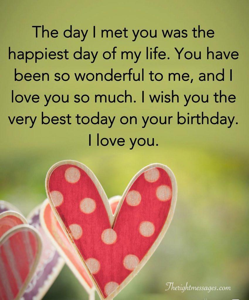 Happy Birthday Wishes For Boyfriend  Short And Long Romantic Birthday Wishes For Boyfriend