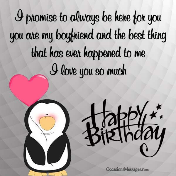 Happy Birthday Wishes For Boyfriend  Romantic Birthday Wishes for Boyfriend Occasions Messages