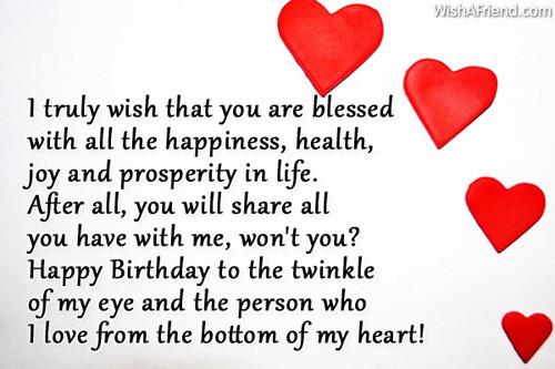 Happy Birthday Wishes For Boyfriend  Birthday Wishes For Boyfriend