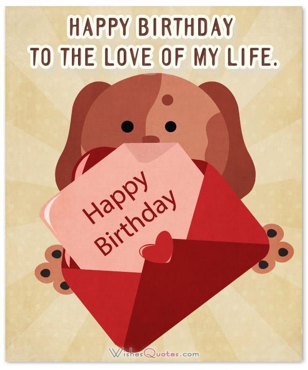Happy Birthday Wishes For Boyfriend  Birthday Wishes for your Cute Boyfriend By WishesQuotes