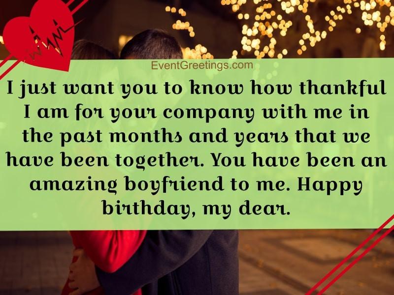 Happy Birthday Wishes For Boyfriend  40 Best Birthday Wishes For Boyfriend To Make The Day Special