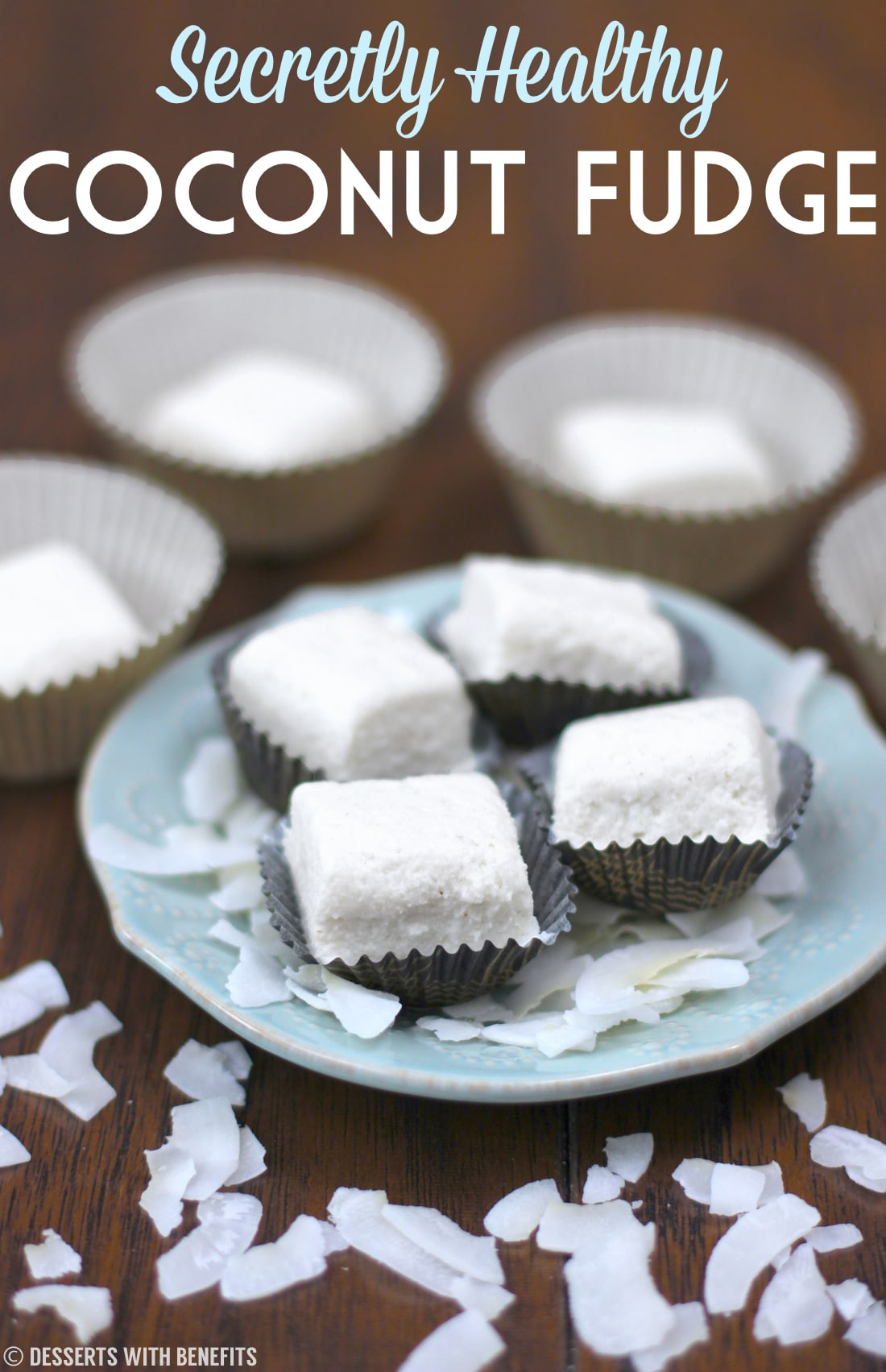 Healthy Low Fat Desserts  Healthy Coconut Fudge low fat Desserts with Benefits
