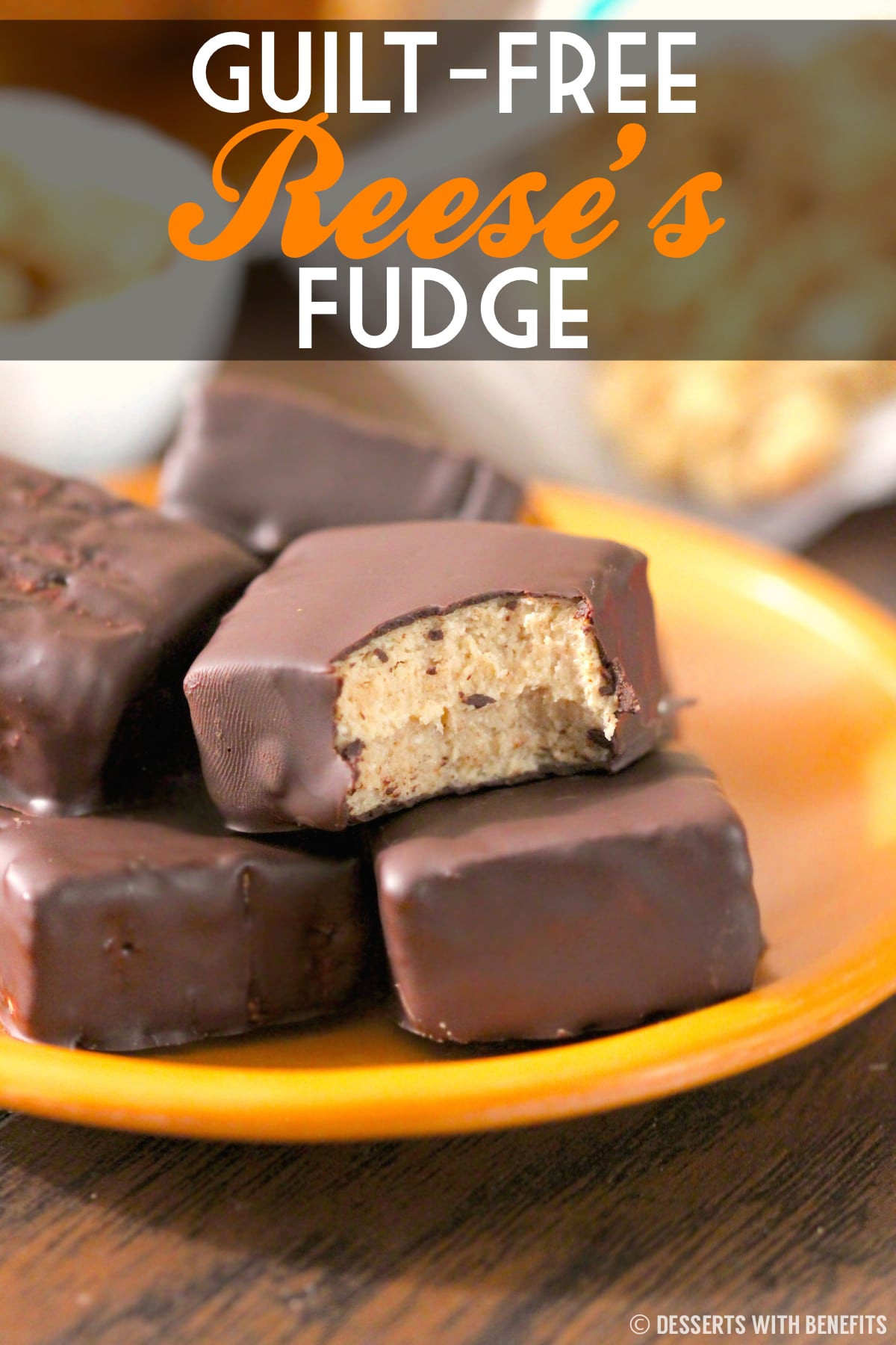 Healthy Low Fat Desserts  Healthy Reese s Fudge Desserts with Benefits