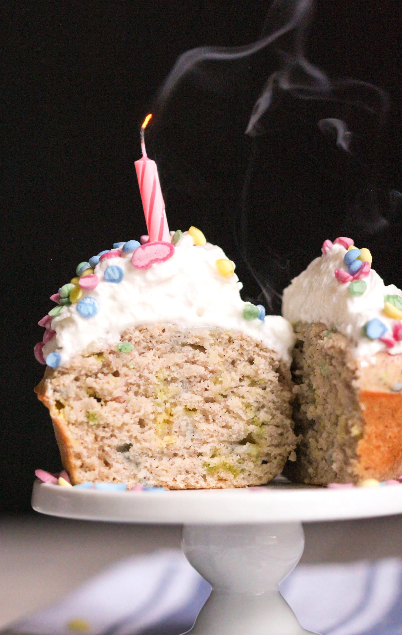 Healthy Low Fat Desserts  Healthy Funfetti Cupcakes Gluten Free Low Fat