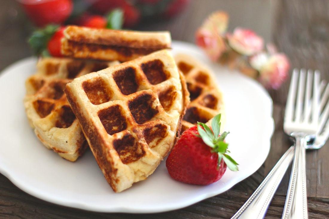 Healthy Low Fat Desserts  Healthy Low Carb Gluten Free Waffles sugar free low fat
