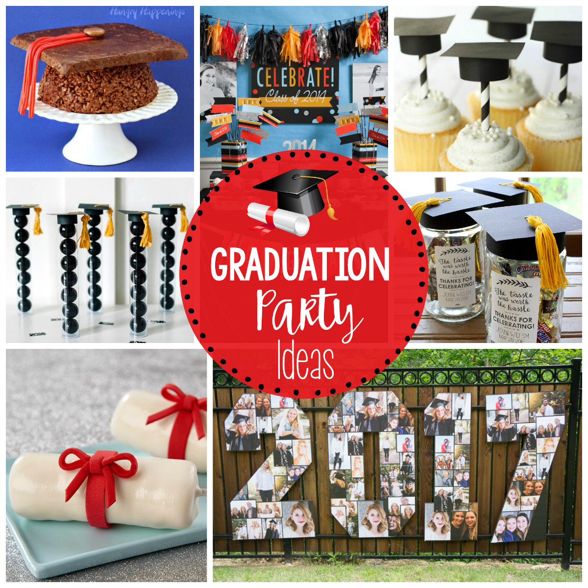 High School Graduation Party Ideas  25 Fun Graduation Party Ideas – Fun Squared