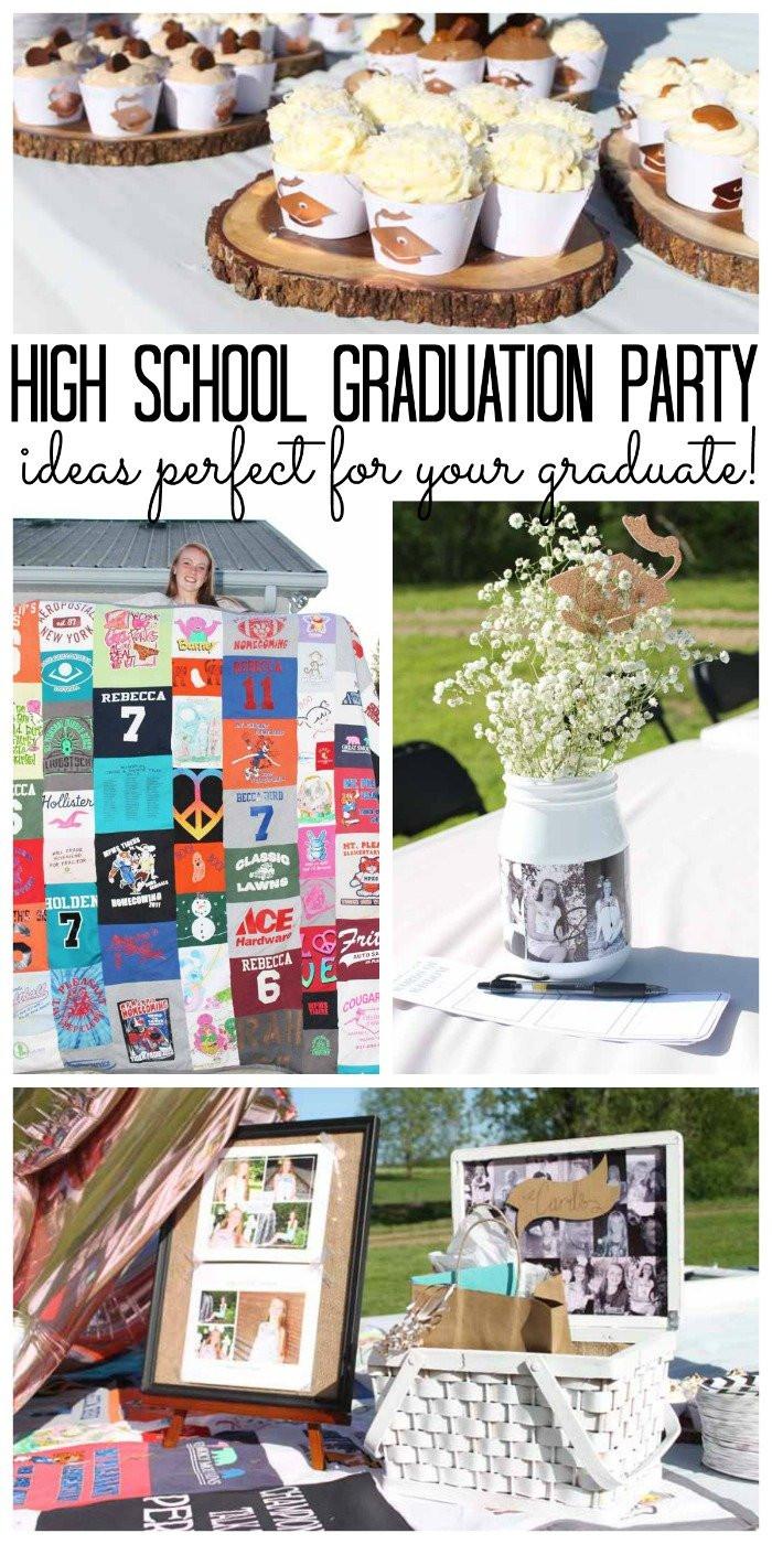 High School Graduation Party Ideas  High School Graduation Party Ideas The Country Chic Cottage