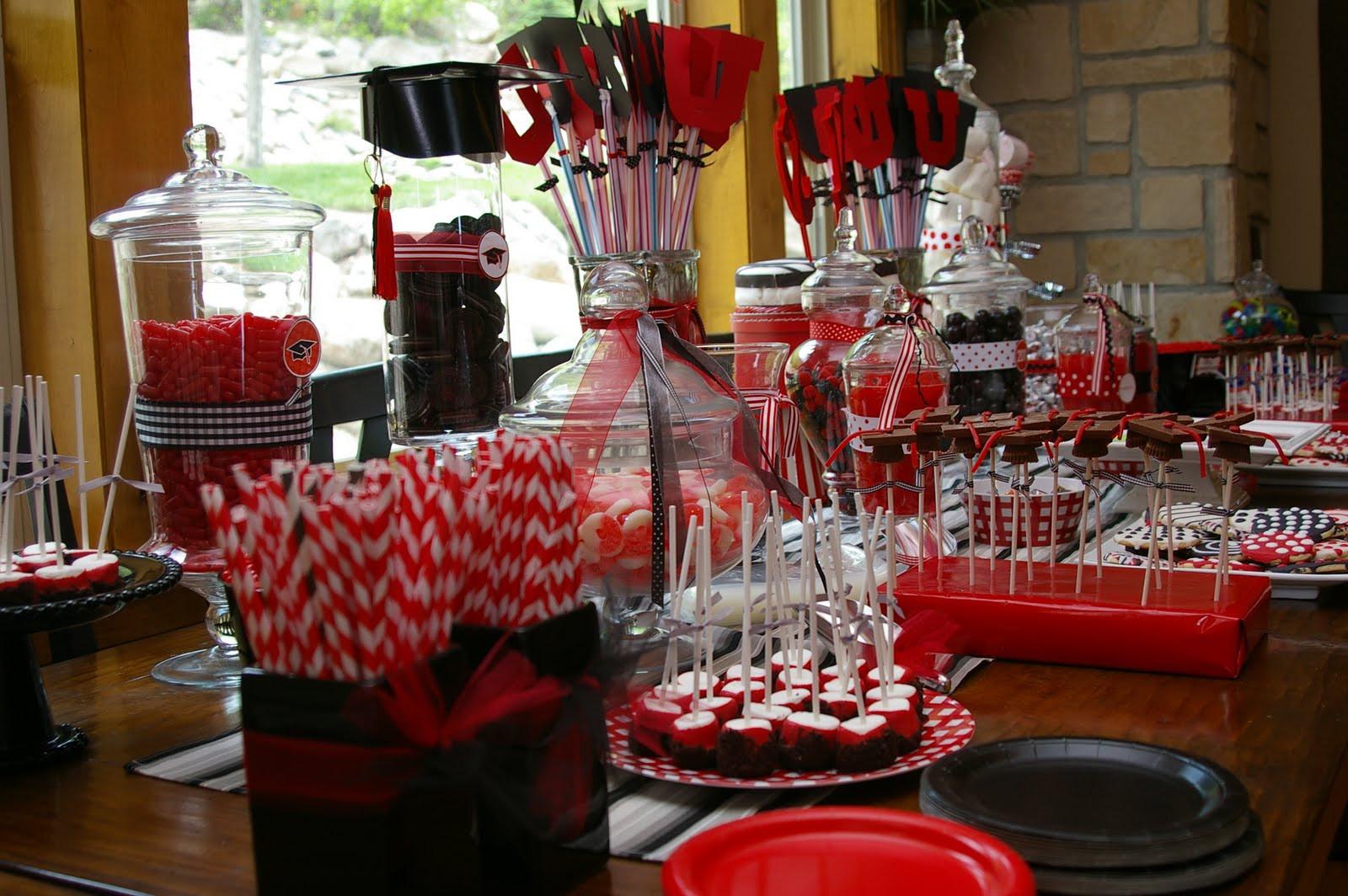 High School Graduation Party Ideas  Bridgey Widgey Graduation