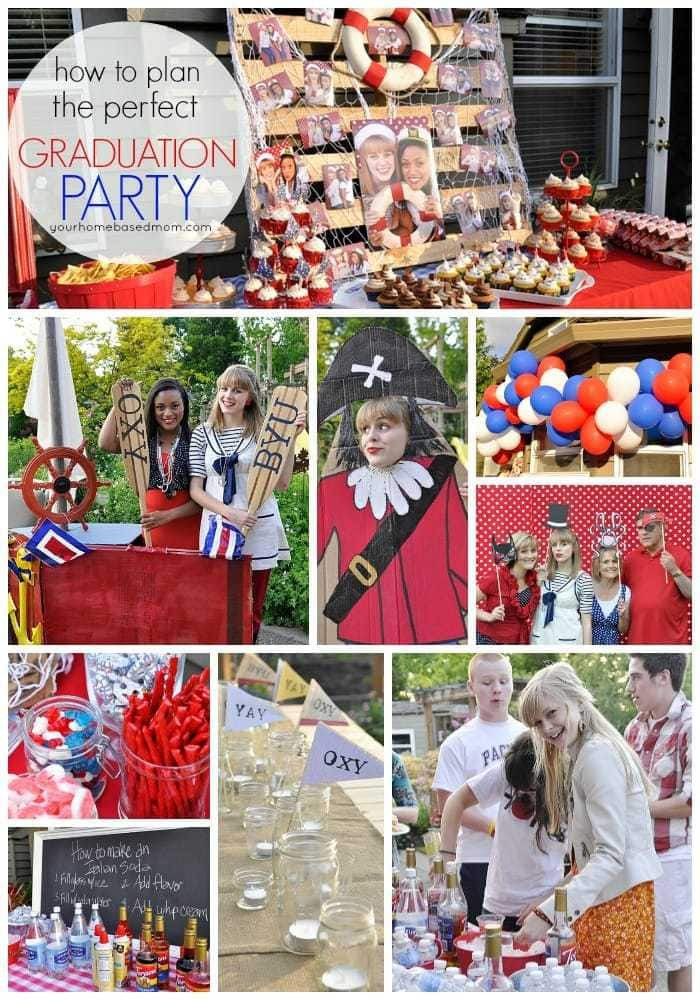 High School Graduation Party Ideas  Graduation Party Ideas From Your Homebased Mom
