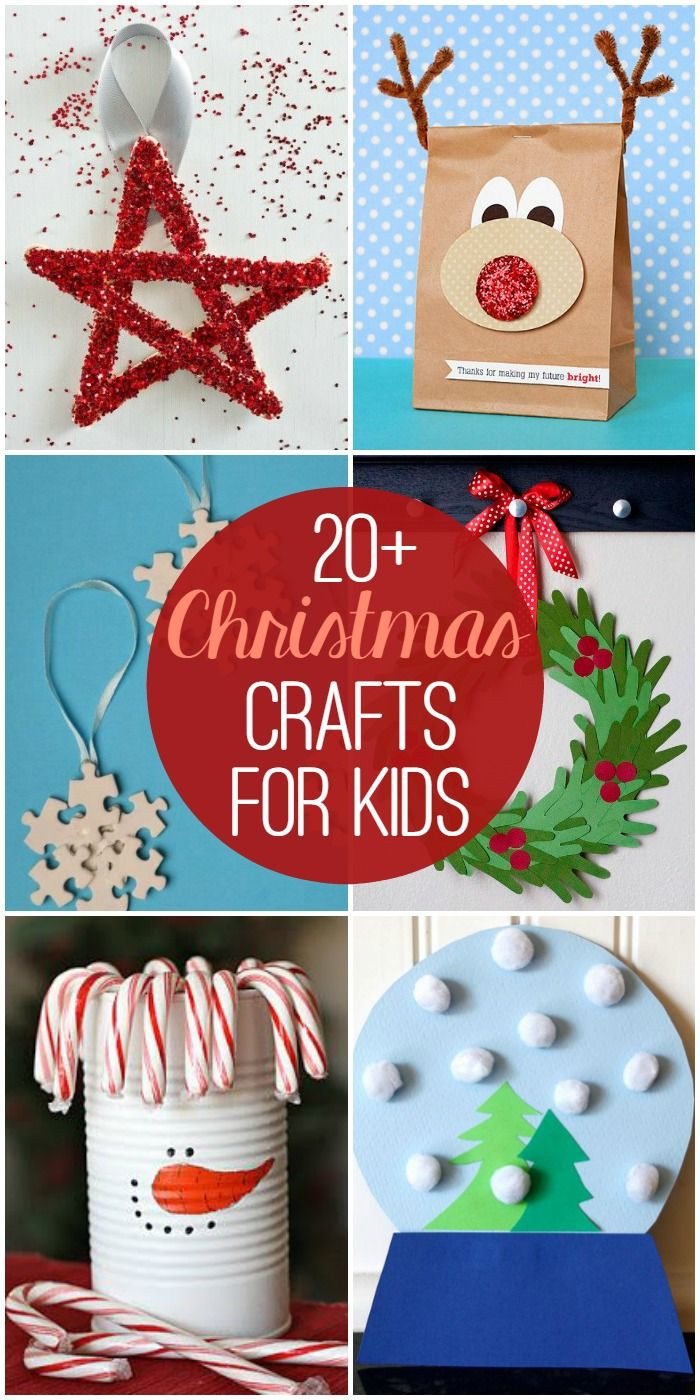 Holiday Projects For Kids  20 Christmas Crafts For Kids