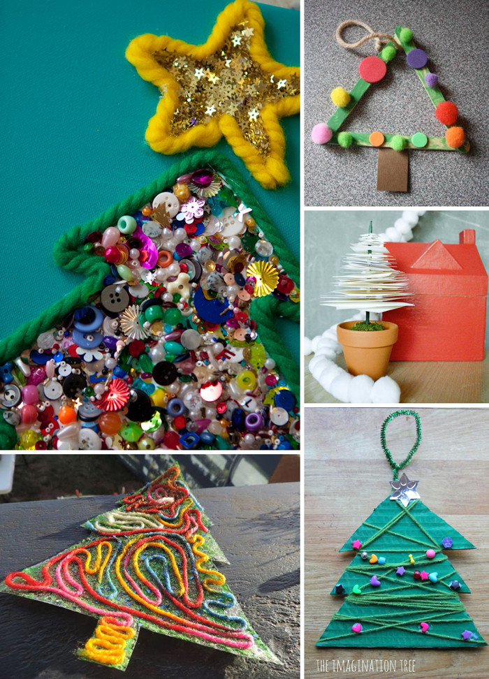 Holiday Projects For Kids  O Tannenbaum 10 Christmas Tree Crafts for Kids Lasso