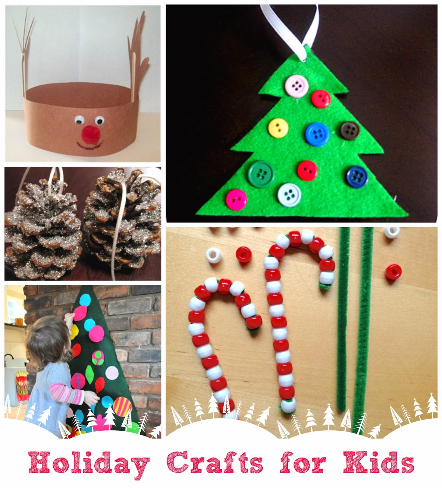 Holiday Projects For Kids  Parent Talk Matters Blog Holiday Craft Ideas for Kids