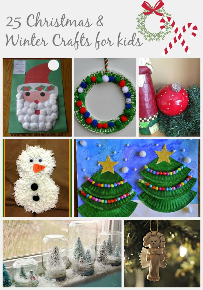 Holiday Projects For Kids  25 Christmas & Winter Crafts for Kids