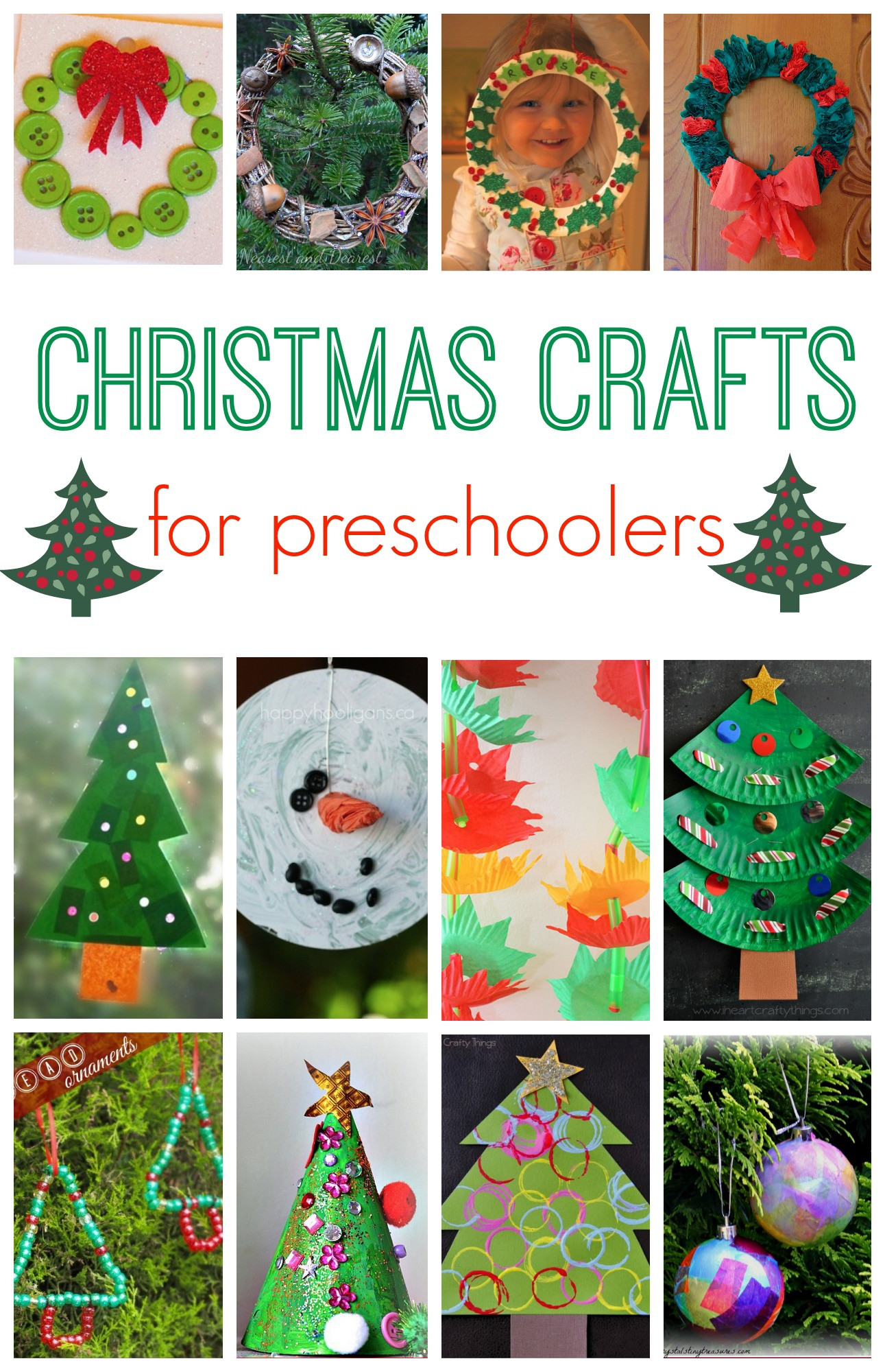 Holiday Projects For Kids  101 Christmas Crafts for Kids Here e the Girls