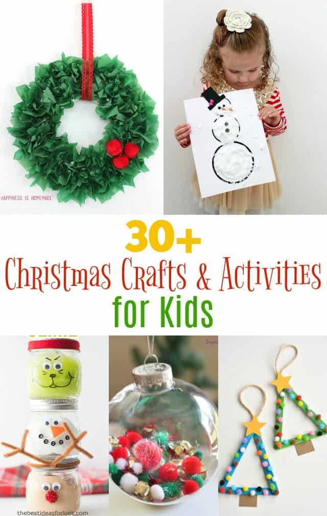 Holiday Projects For Kids  Fun Christmas Kid Crafts and Activities Girl Loves Glam