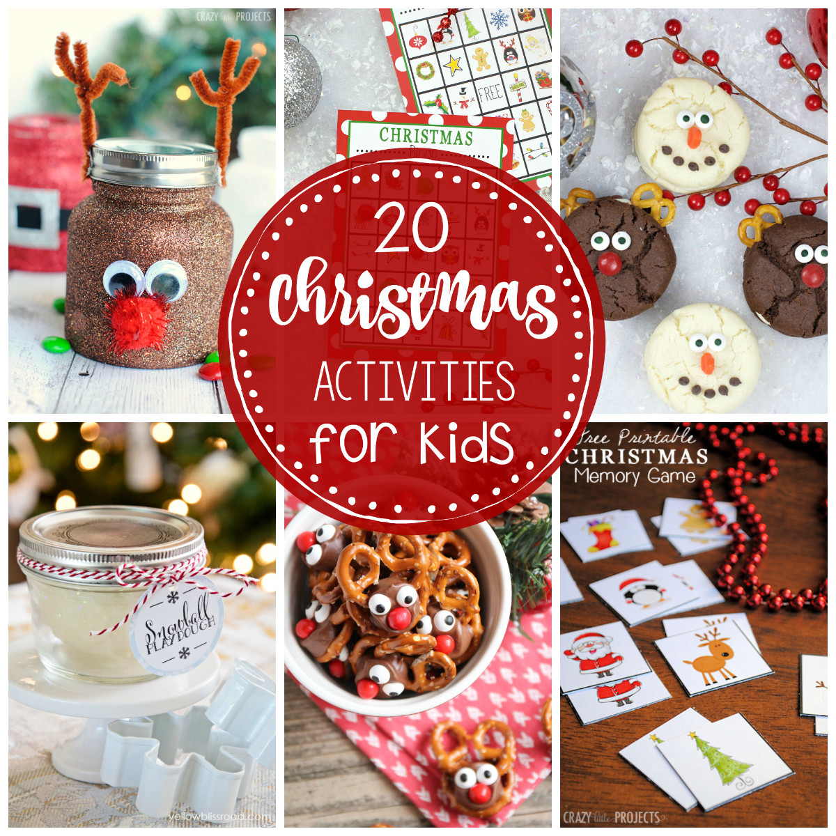 Holiday Projects For Kids  25 Fun Christmas Activities for Kids Crazy Little Projects