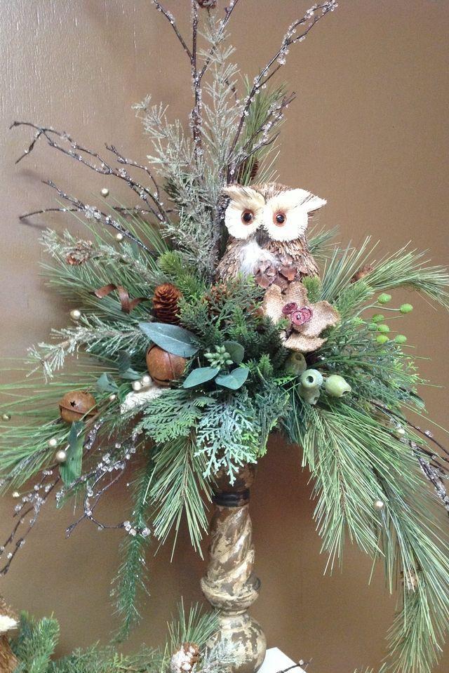 Homemade Christmas Flower Arrangements  25 Christmas Centerpieces That Set the Scene for a Festive
