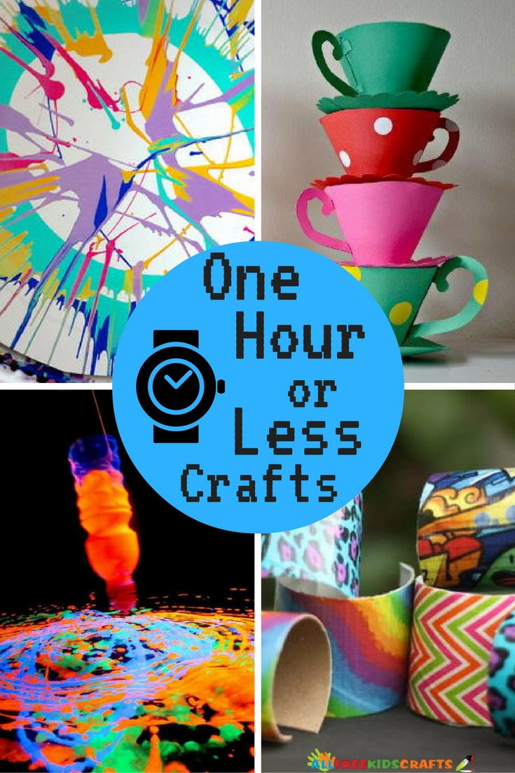 Homemade Crafts For Toddlers  26 Quick and Easy Crafts e Hour or Less