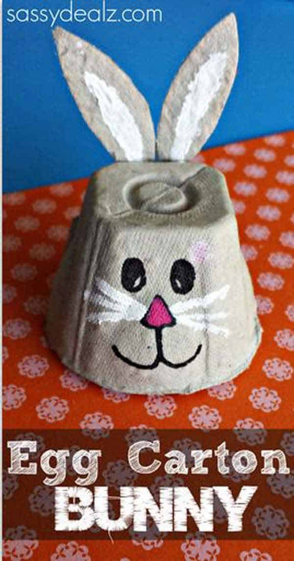 Homemade Crafts For Toddlers  24 Cute and Easy Easter Crafts for Kids Homesthetics