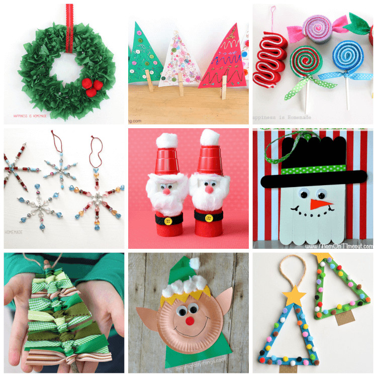 Homemade Crafts For Toddlers  Easy Christmas Kids Crafts that Anyone Can Make