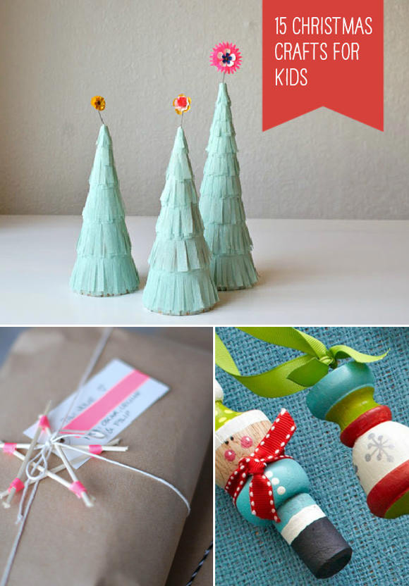 Homemade Crafts For Toddlers  15 Simple Christmas Crafts for Kids