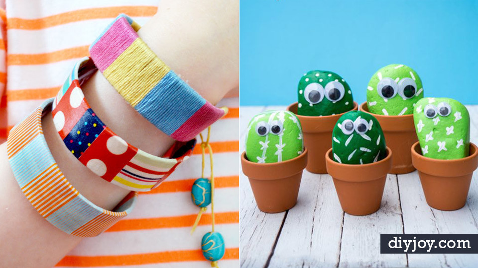 Homemade Crafts For Toddlers  40 Crafts and DIY Ideas for Bored Kids