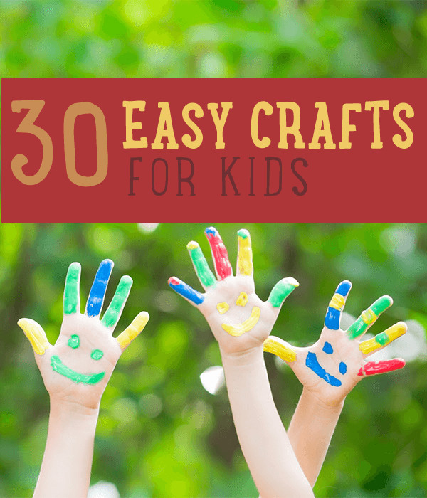 Homemade Crafts For Toddlers  Kids Crafts