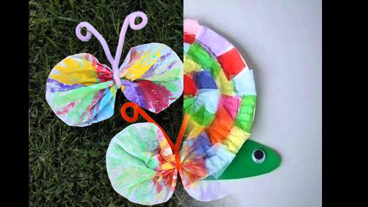 Homemade Crafts For Toddlers  Easy DIY spring crafts for kids