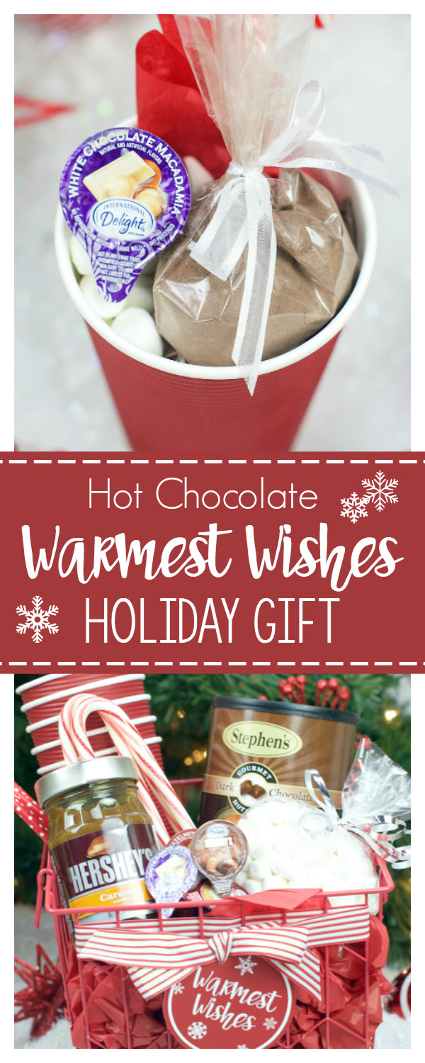 Hot Chocolate Gift Basket Ideas  Hot Chocolate Gift Basket for Christmas – Fun Squared