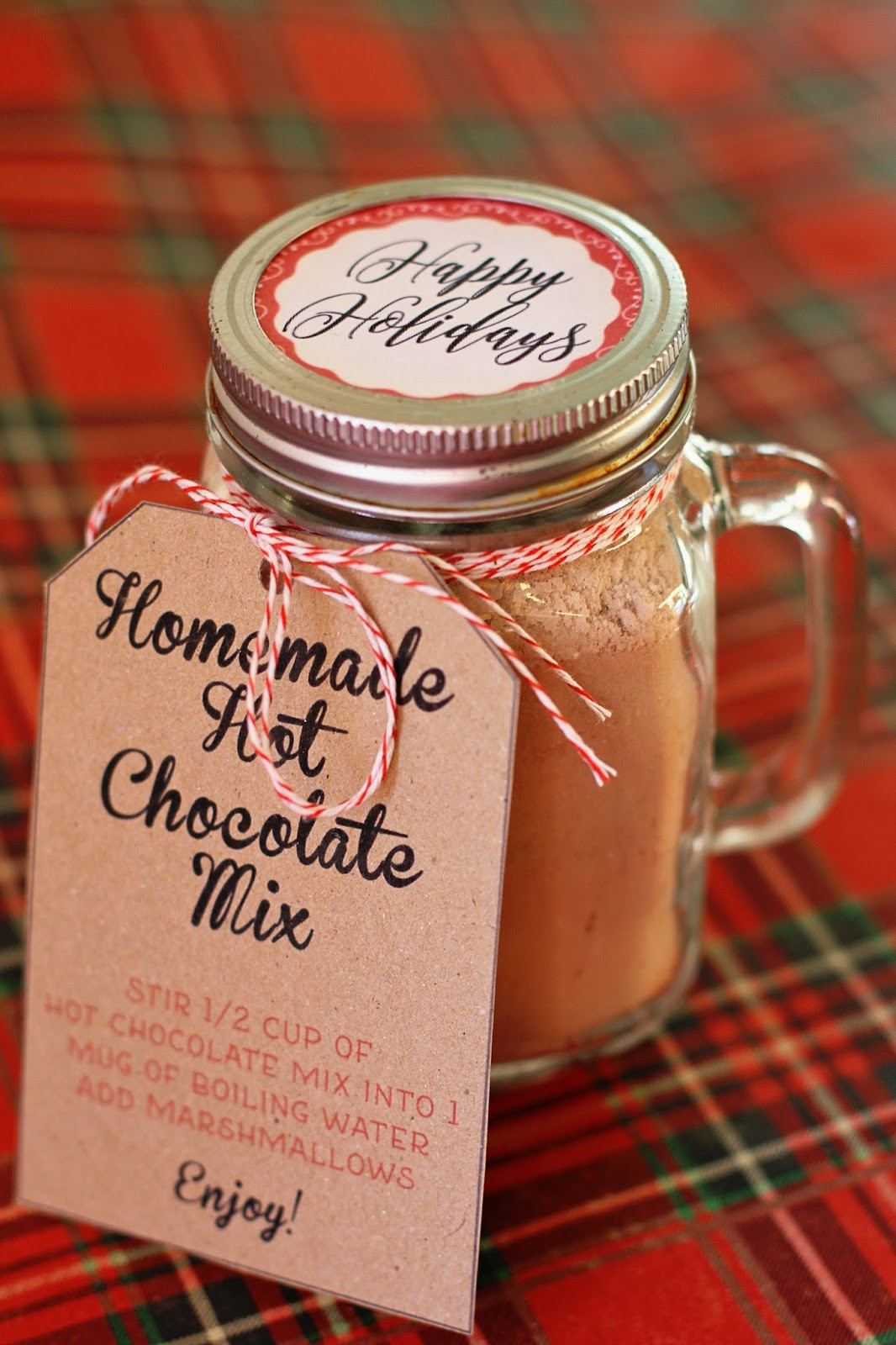 Hot Chocolate Gift Basket Ideas  Running from the Law DIY Homemade Hot Chocolate Gift Basket