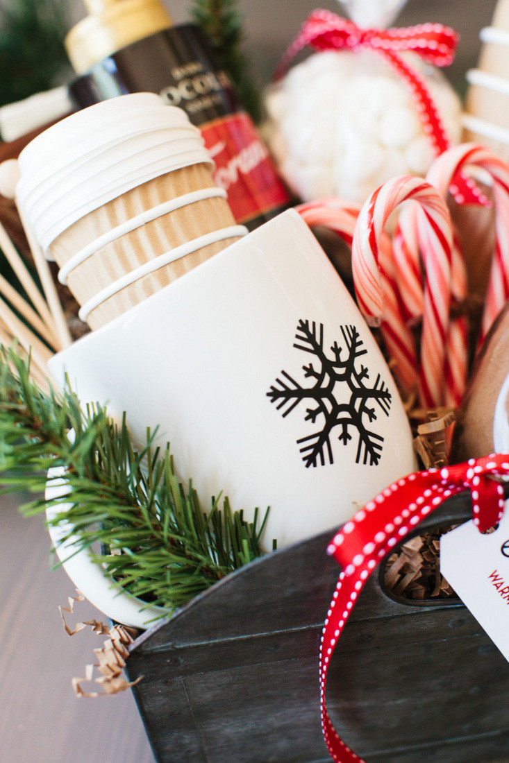 Hot Chocolate Gift Basket Ideas  The Perfect Hot Cocoa Gift Basket…