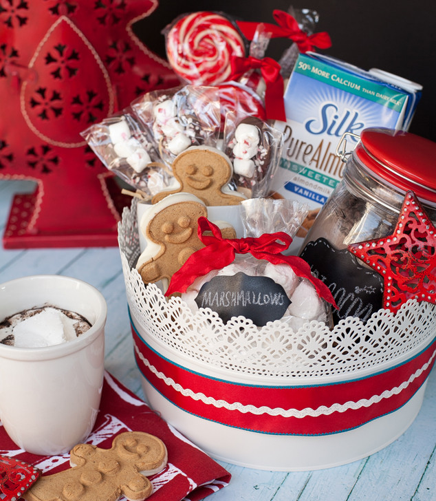 Hot Chocolate Gift Basket Ideas  Delicious Gift Giving Non Dairy Hot Chocolate Gift Basket
