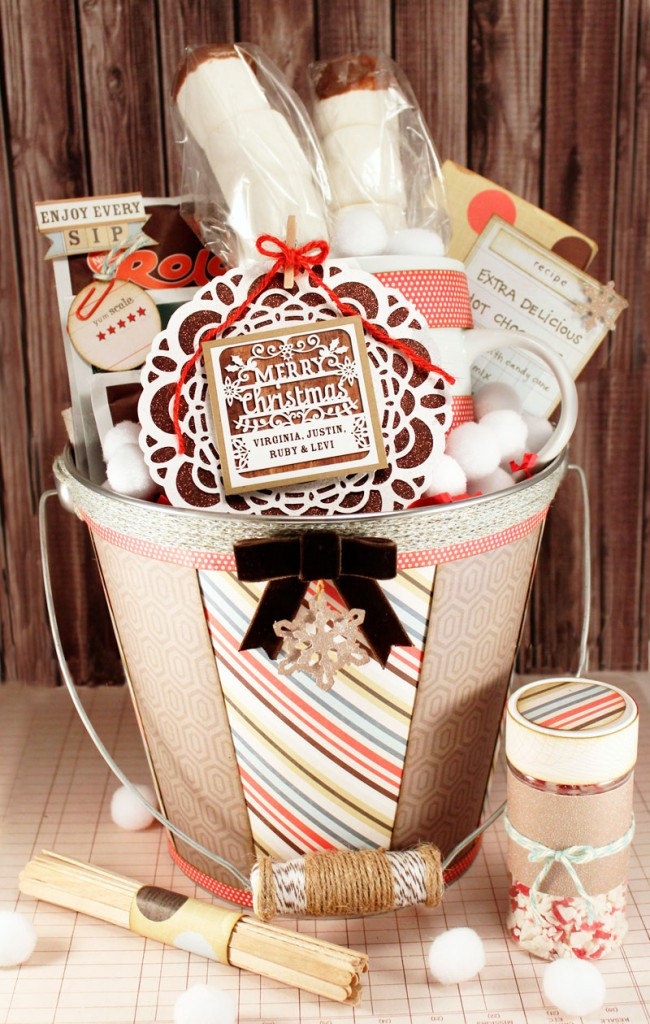 Hot Chocolate Gift Basket Ideas  Mousetrap Advent Calendar or Christmas Card Display