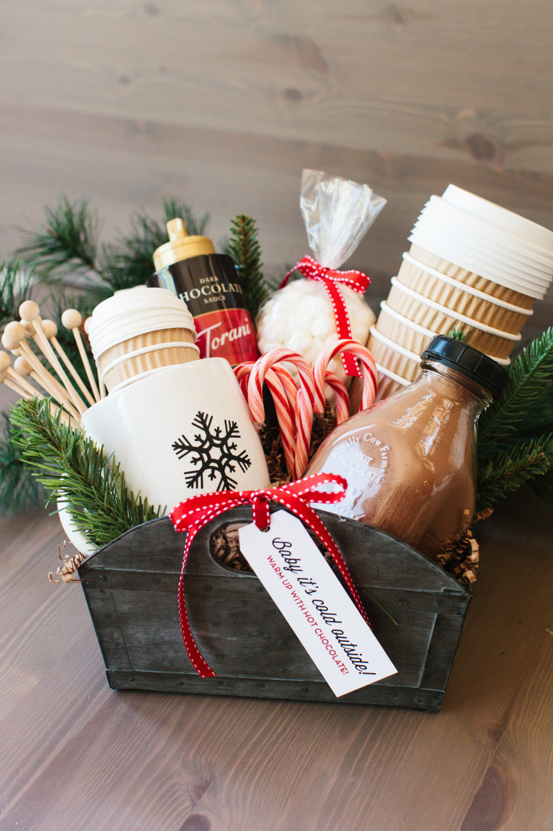 Hot Chocolate Gift Basket Ideas  The Perfect Hot Cocoa Gift Basket