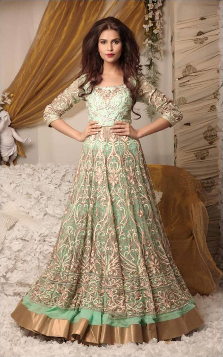 Indian Wedding Gown  Indian Wedding Dresses 22 Latest Dresses To Look Like A Diva
