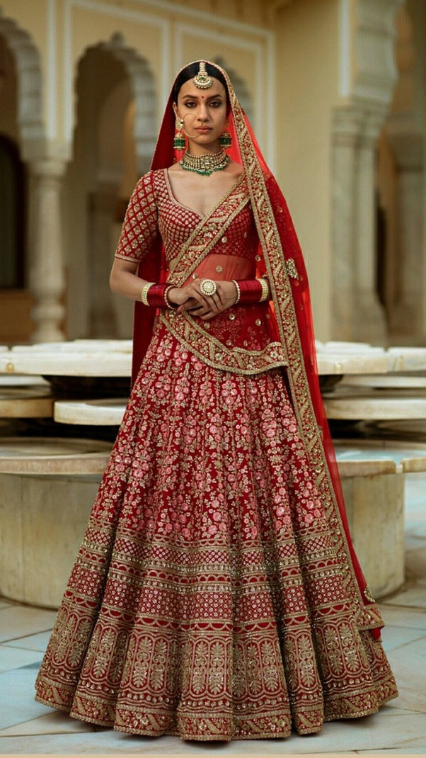 Indian Wedding Gown  What are some of the best wedding dresses for Indian bride
