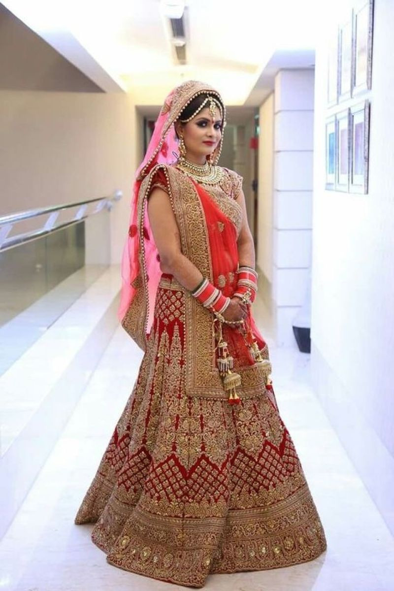 Indian Wedding Gown  Indian Bridal Traditional Wedding Dresses Trends 2018 19