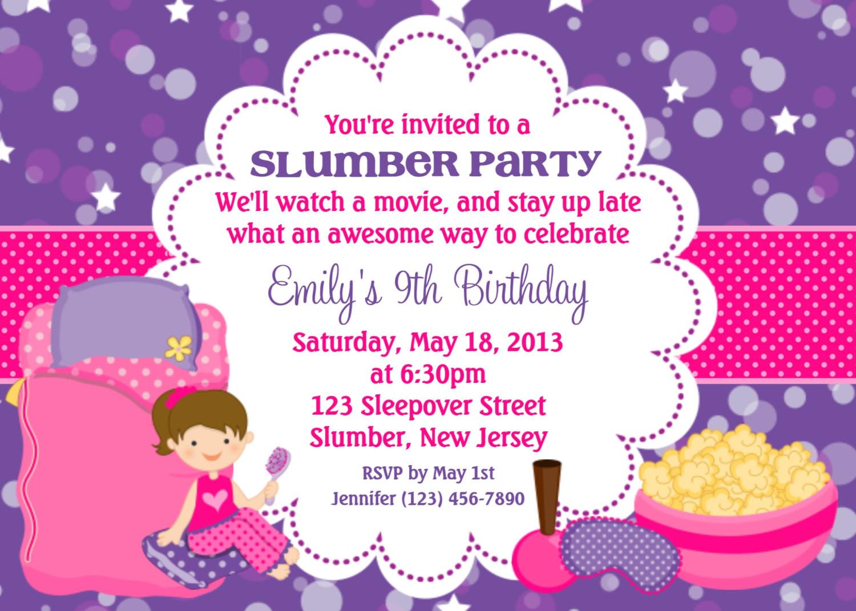 Invitation Birthday Party  Invitation Cards