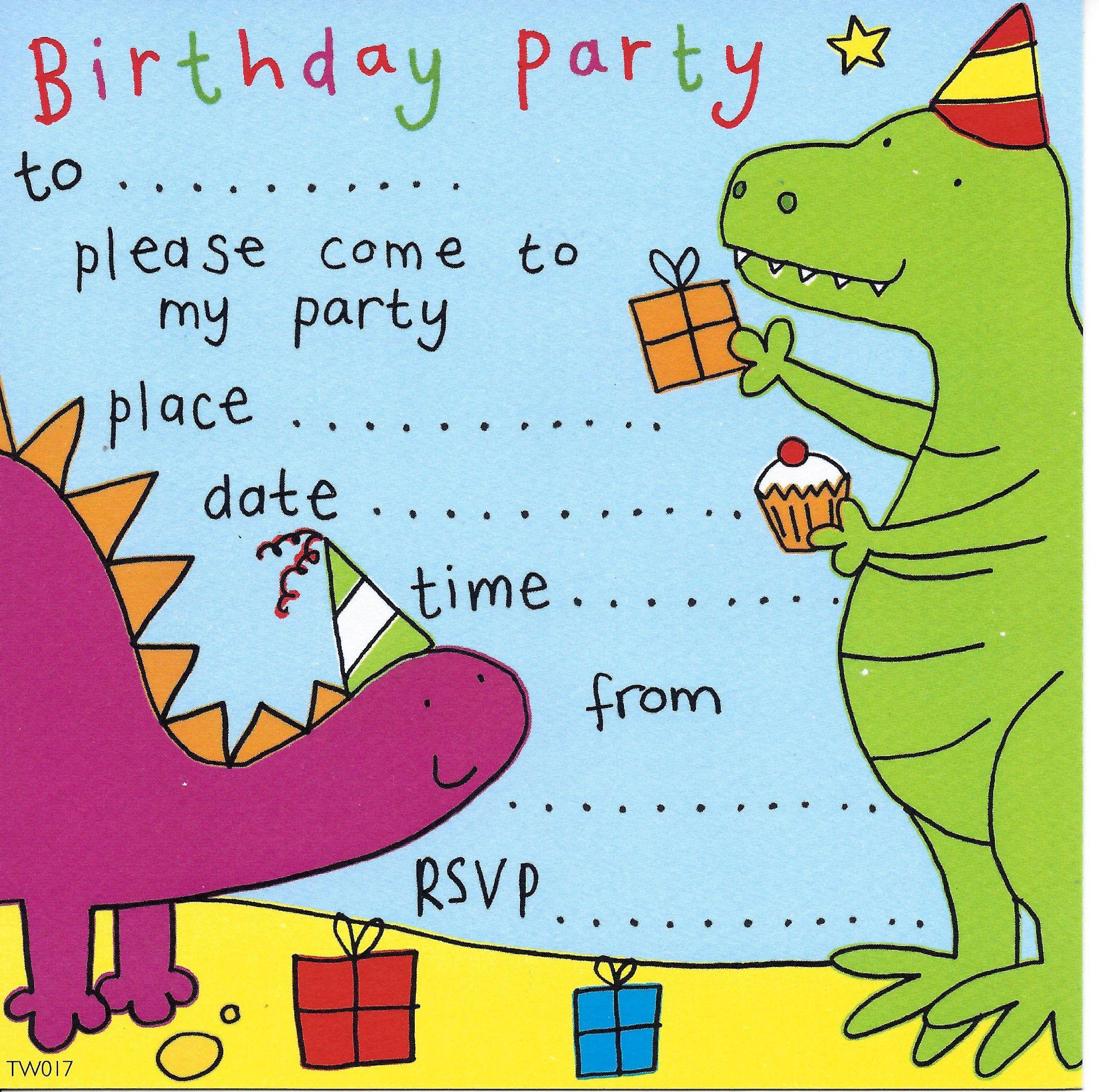 Invitation Birthday Party  party invitations birthday party invitations kids party