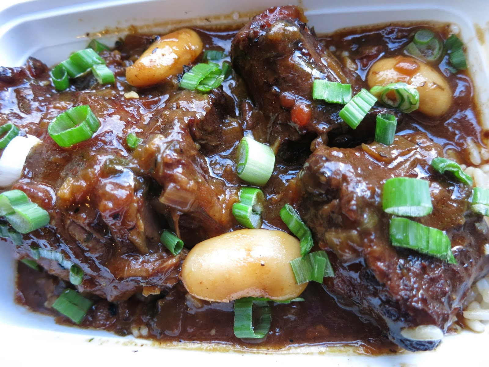 Jamaican Oxtail Stew Recipe  Smokin Chokin and Chowing with the King Jamaican Oxtail