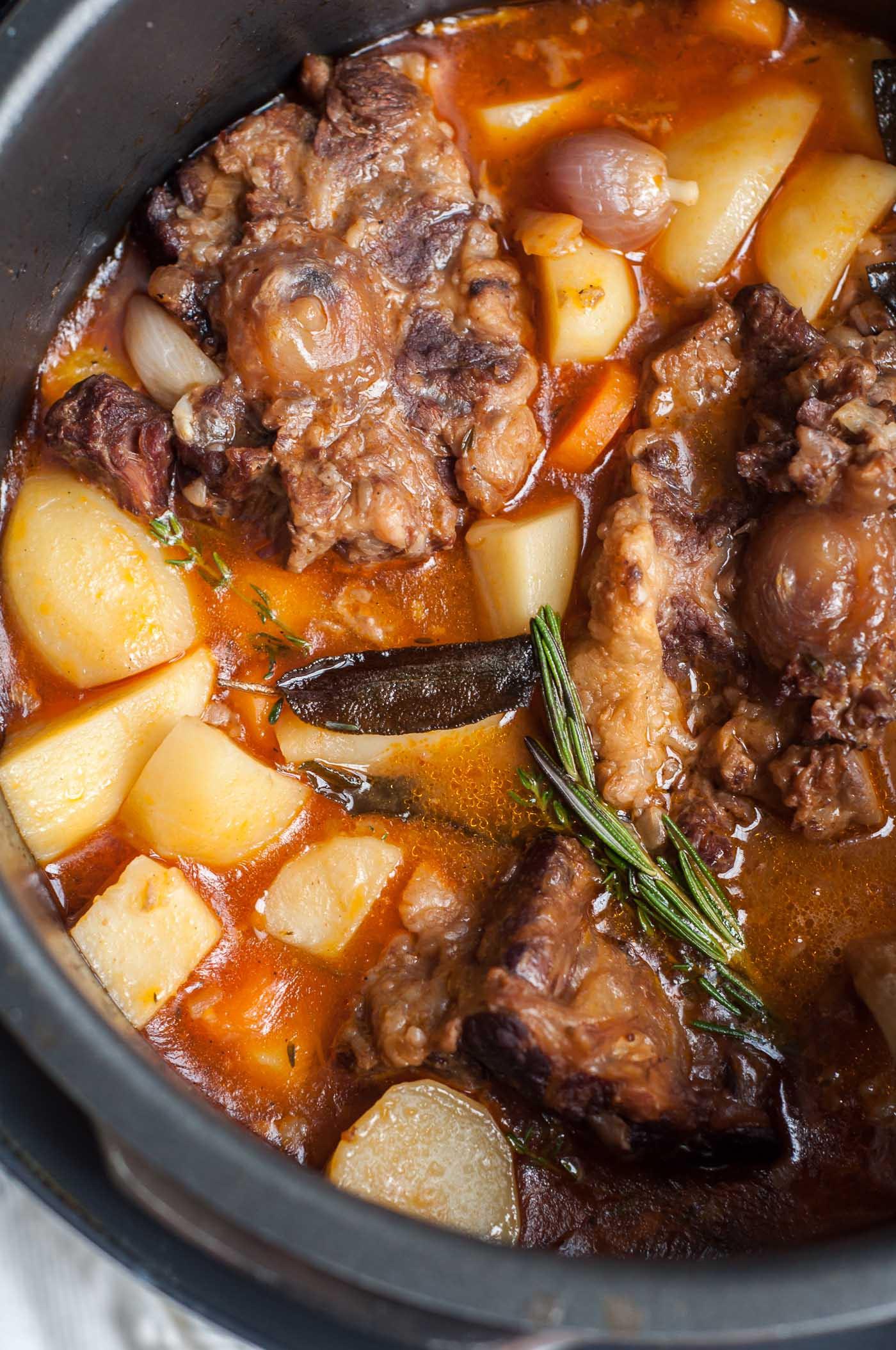 Jamaican Oxtail Stew Recipe  Pressure Cooker Oxtail Stew GastroSenses