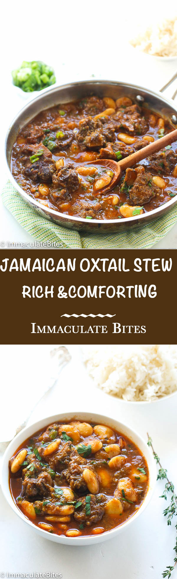 Jamaican Oxtail Stew Recipe  Jamaican Oxtail Stew Immaculate Bites