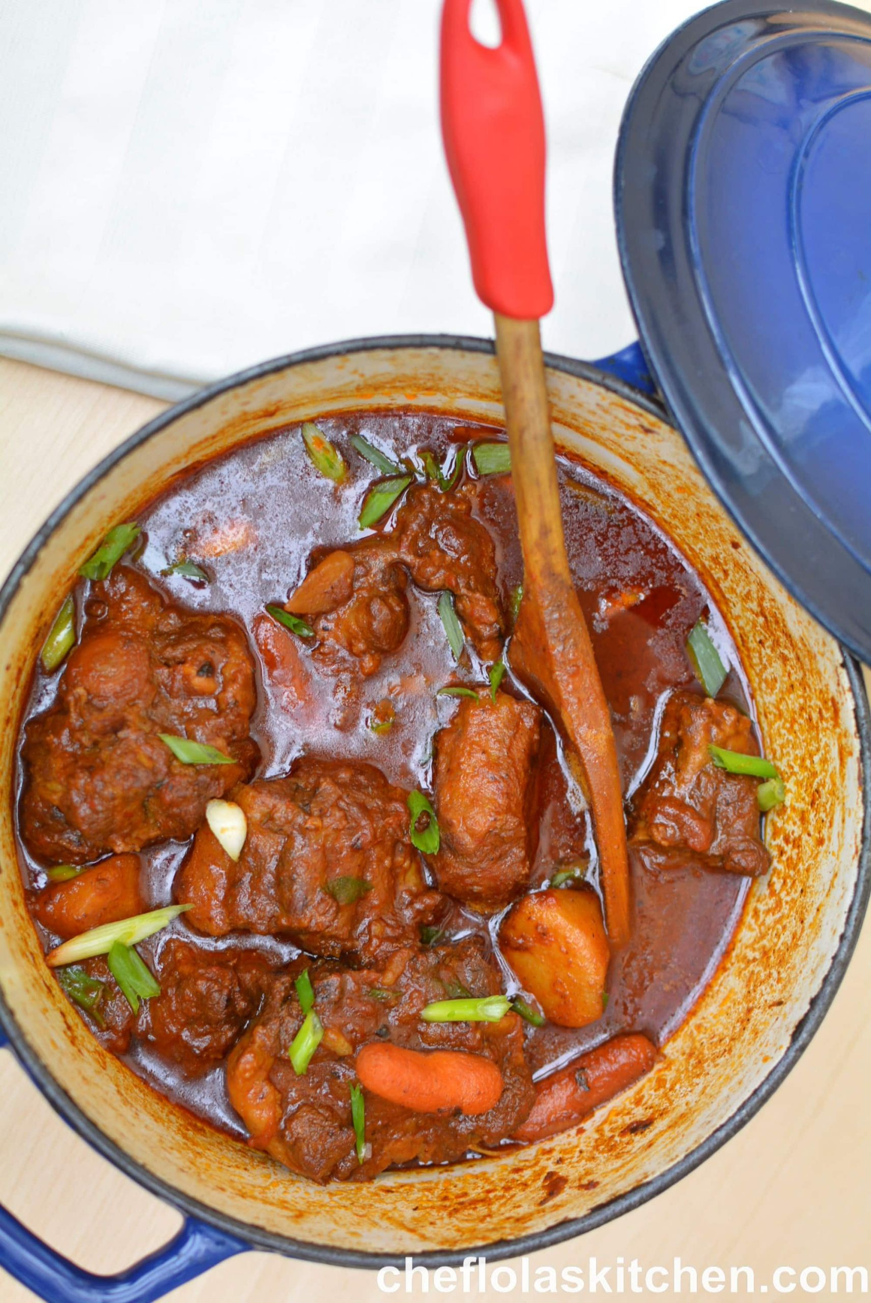 Jamaican Oxtail Stew Recipe  Best Jamaican Oxtail Stew Soup VIDEO